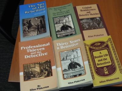 アメリカ初の「プロの探偵」として19世紀後半に活躍した、Allan Pinkertonの著作集