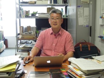 高屋先生の研究室