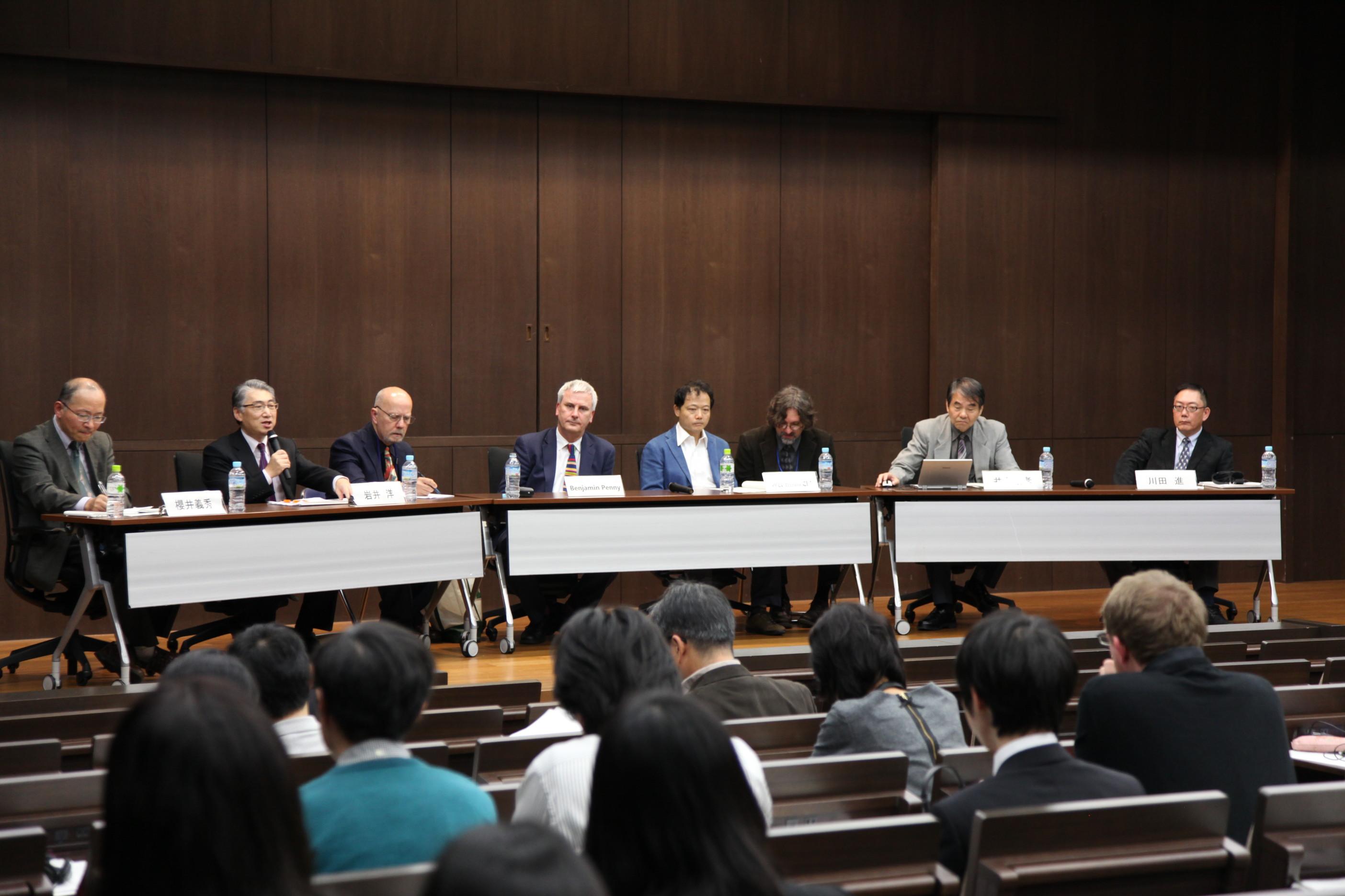 日本文化研究所が開催している国際研究フォーラムには世界の第一線で活躍する研究者が集結する