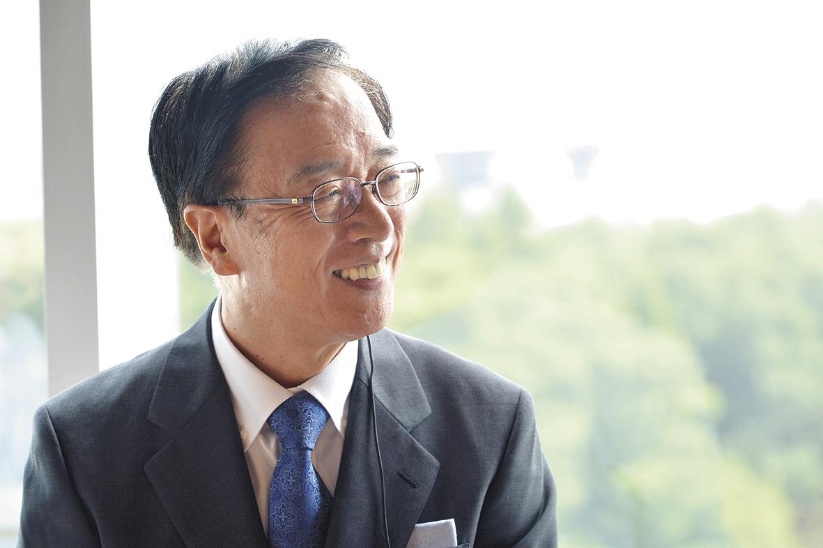 積極的な個性の尊重は、日本の伝統精神だと赤井学長は考える。
