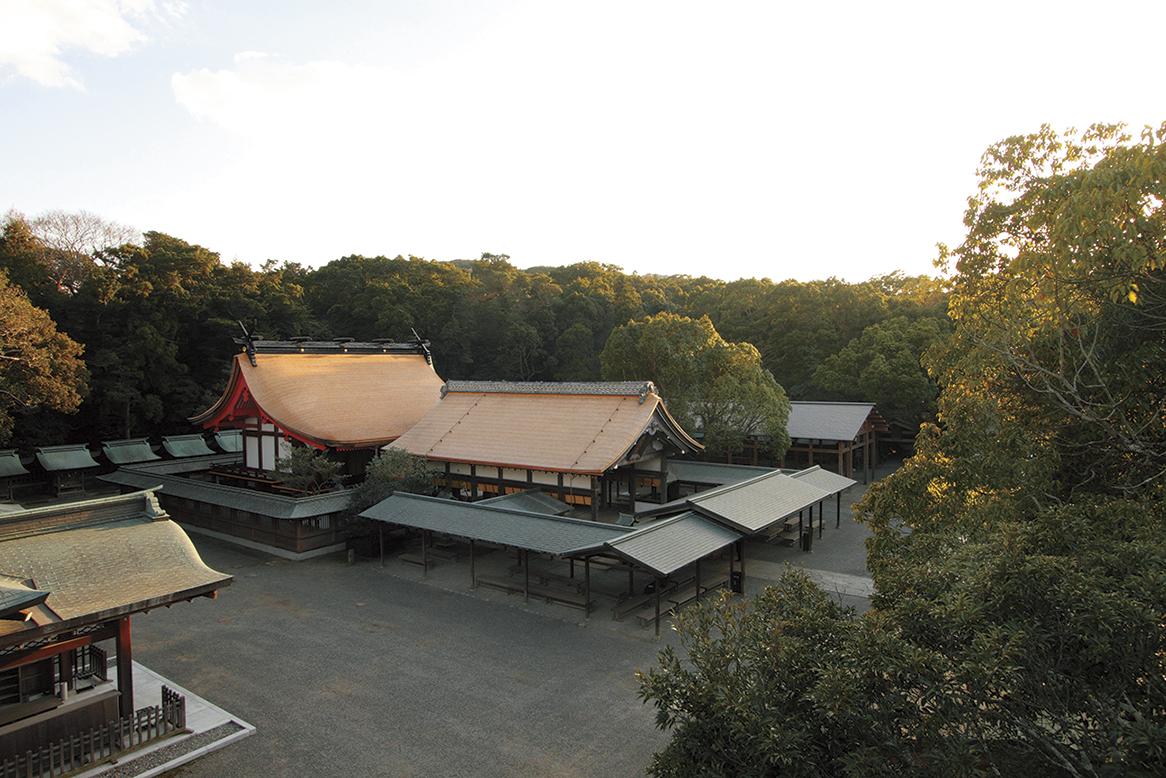辺津宮(九州本土)