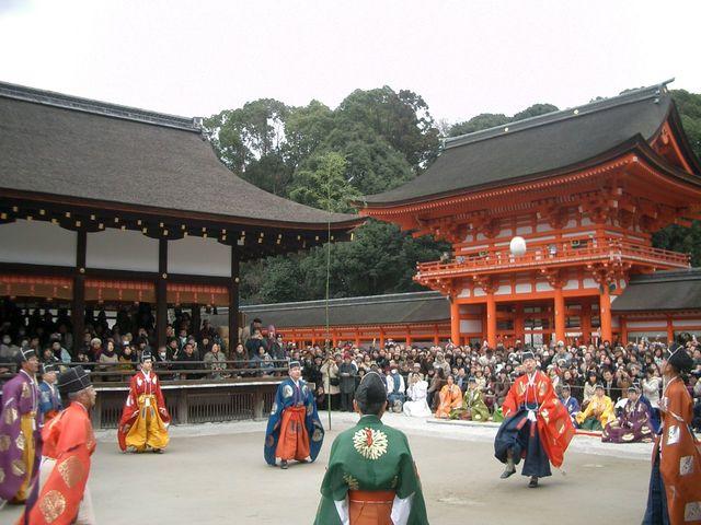 Kemari Hajime provided by Kamomioya-jinja Shrine (Shimogamo-jinja Shrine)