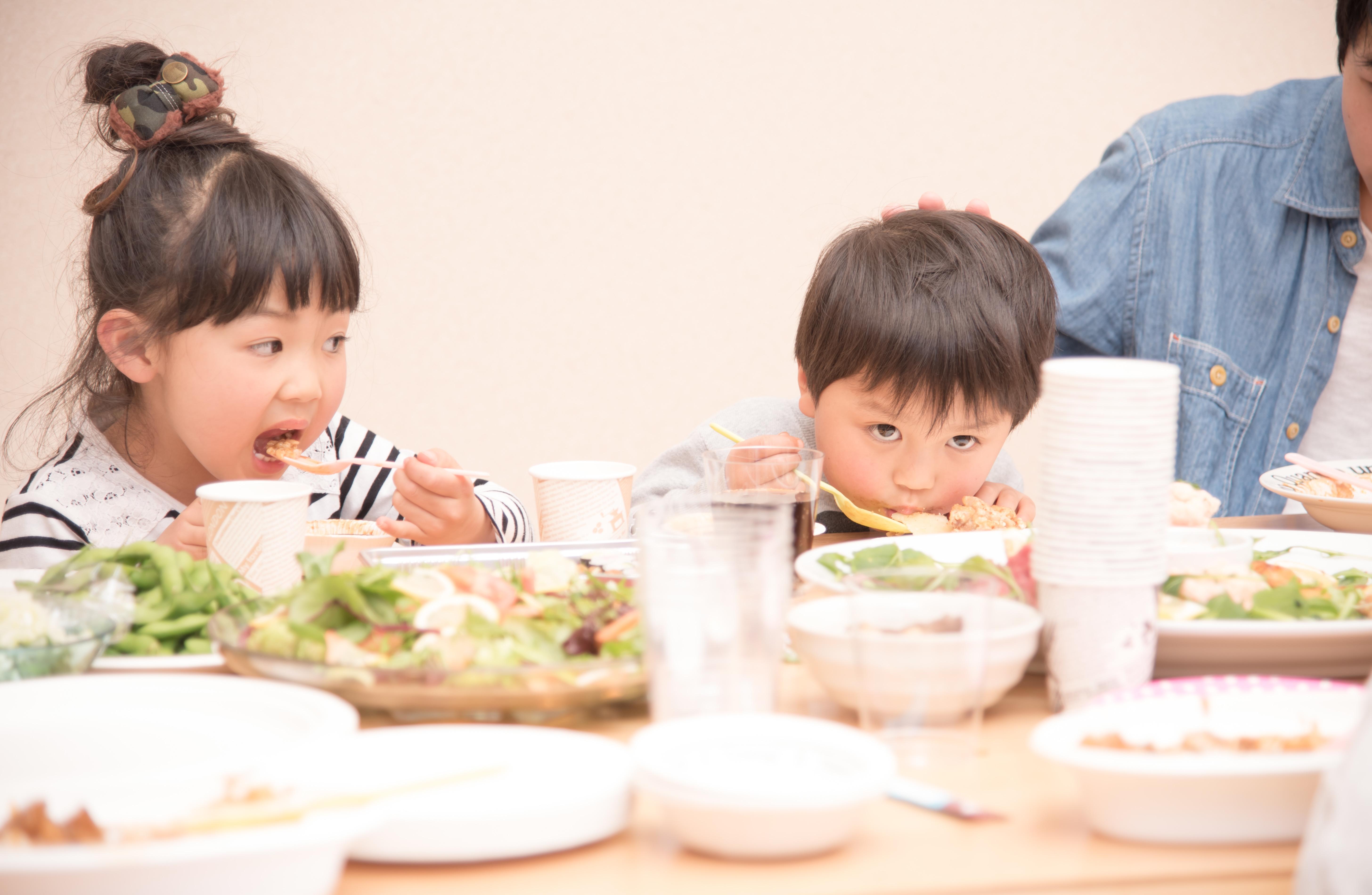 子どもの成長と食べ物の好き嫌い