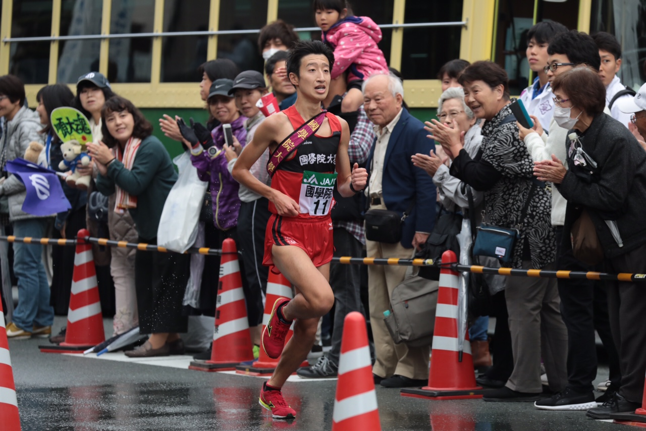 全日本 アンカー 長谷選手