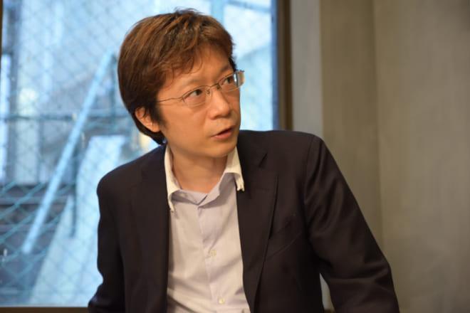 國學院大學経済学部准教授の山本健太氏。