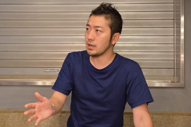 ツクルバ代表取締役CCO(チーフ・コミュニティ・オフィサー)の中村真広氏