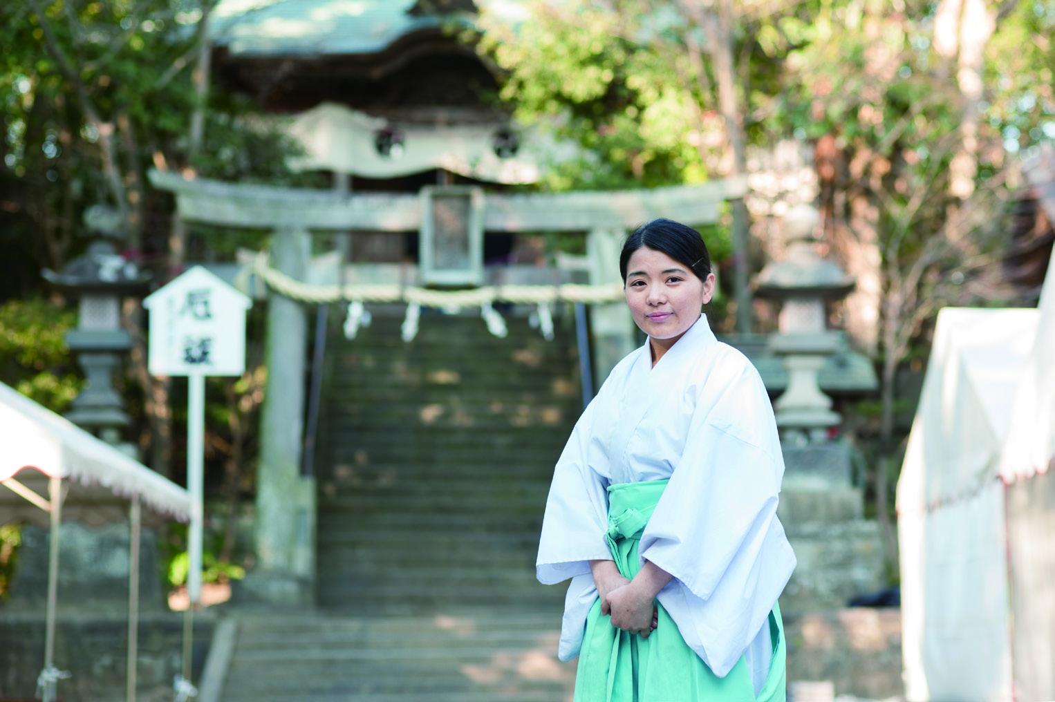 女性の神職として、神道に末長く...